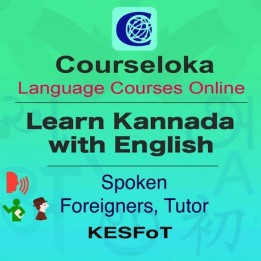 Kannada with English, Spoken, Foreigner, Tutor