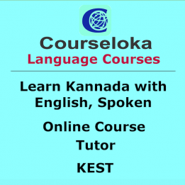 Learn Kannada with English, Spoken, Tutor