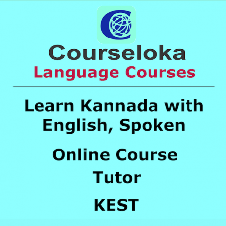 Learn Kannada with English, Spoken, Tutor