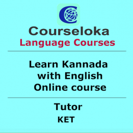 CourseLoka, Learn Kannada with English, Tutor