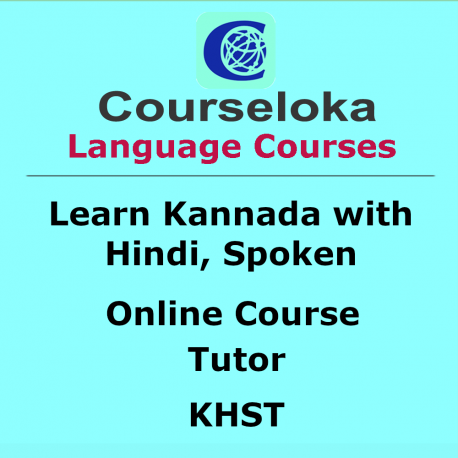 Kannada with Hindi, Spoken, Tutor