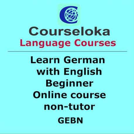 CourseLoka, Learn German with English, Beginner, non-Tutor