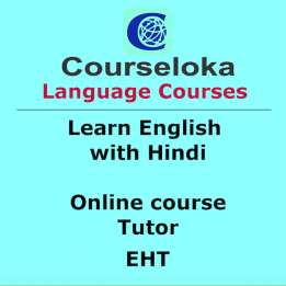 CourseLoka, Learn English with Hindi, Tutor